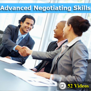 Advanced Negotiation skills